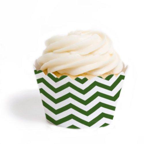 Dress My Cupcake Wrappers Chevron