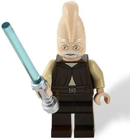 NEW Lego Star Wars Minifig 7 LIGHT SABER LOT Jedi Minifigure Weapon w//Pink Green