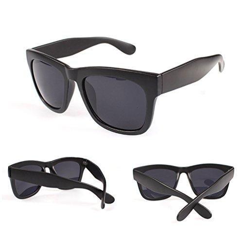 de Noir Femmes Lentille Protection Hommes Cadre Cadre Lunettes Eyewear Métal Wayfarer LINNUO Soleil Sunglasses UV Polarisées 2noir qT15H1Saw