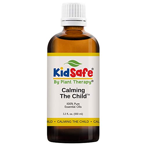 Plant Therapy Essential Oils Calming the Child Synergy - Relaxing and Soothing Blend 100% Pure, KidSafe, Undiluted, Natural Aromatherapy, Therapeutic Grade 100 mL (3.3 oz)