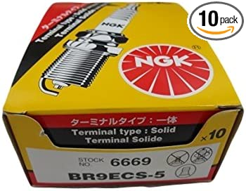 NGK BR9ECS-5 Box of 10 Spark Plugs 6669