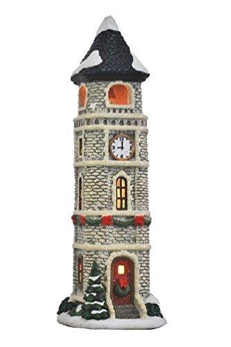 St Nicholas Square Village Illuminated Clock Tower