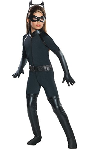 Deluxe Catwoman Child Costume - Medium (Catwoman Costumes Kids)