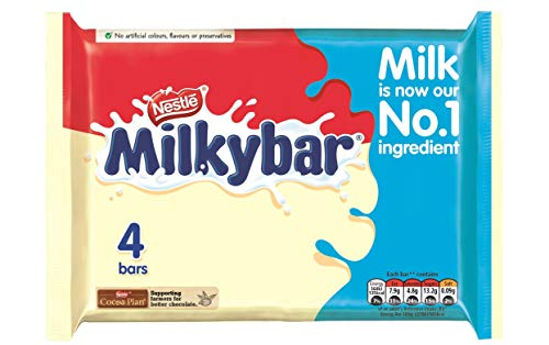 Original Milky Bar White Chocolate Pack imported from the UK, England Milkybar White Chocolate Pack British White Chocolate