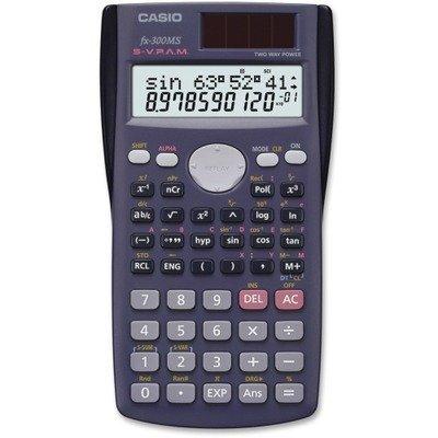 Casio-computer 2-line Student Scientific Calculator (fx300ms) - by Casio