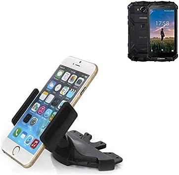 Ranura de CD Smartphone Soporte para Doogee S60 | soporte de coche ...