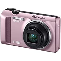 Casio High Speed Exilim Ex-ZR400 Digital Camera Pink EX-ZR400PK - International Version (No Warranty)