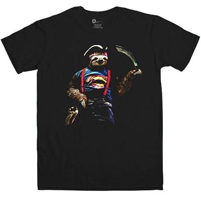 Mens T Shirt - Sloth Sloth - 8Ball Originals Tees - 44, Hundredths-Pounds