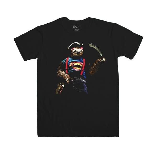 Mens T Shirt - Sloth Sloth - 8Ball Originals Tees -