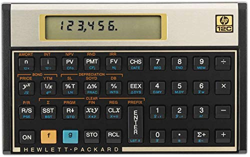 HP 12C Financial Calculator Latin America