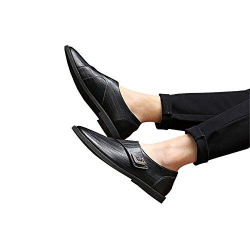 Formal Black Leather Men's Lisianthus002 Shoes Oxford gFwZFq5
