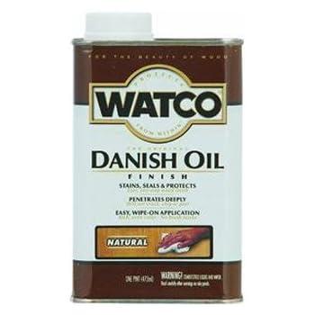 RUST-OLEUM 242221 Watco Pint Dark Walnut Danish Oil Wood Finish