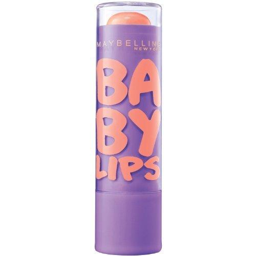 Maybelline New York Baby Lips Moisturizing Lip Balm - Peach Kiss (Pack of 2)