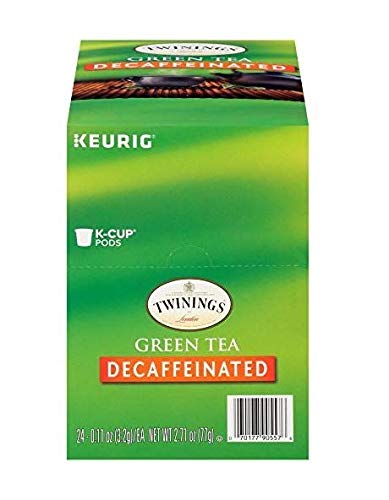 Twinings Green Tea Decaf Keurig K-Cups, 48 Count (Best Keurig Green Tea)