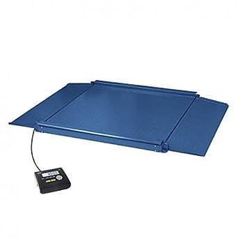 Gram 0004510 Báscula Industrial con Doble Rampa de Acceso Integrada para Todo Tipo de Aplicaciones Industriales