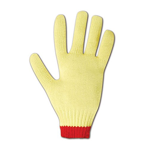 Magid Glove & Safety C590KVT-7 Magid Cut Master Heavyweight Gloves with Reinforced Thumb Crotch, Made with DuPont Kevlar 1000, Medium, Yellow , Small (Pack of 12) by Magid Glove & Safety (Image #1)