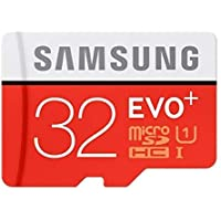 Samsung EVO Plus 32 GB MicroSDHC Class 10 Upto 95 MB/s Memory Card with SD Adapter
