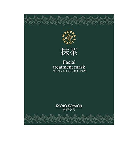 京都小町<抹茶美人>マチャビューティー フェイシャル トリートメント マスク 25g×30枚(+無料5枚) B018O0BRQ8