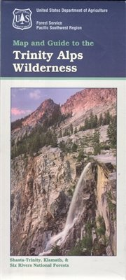 Trinity Alps Wilderness Map and Guide: Amazon.com: Books
