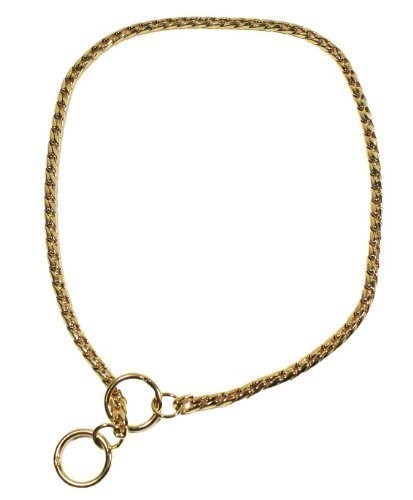 12 gold Plated Dog Choker by Best Show