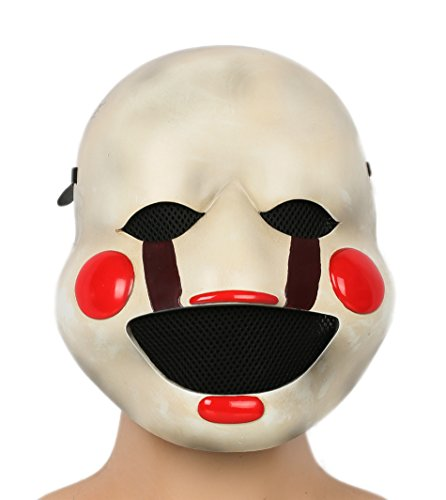 xcoser Puppet Mask Deluxe Resin Marionette Masque Adult Cosplay Costume Props