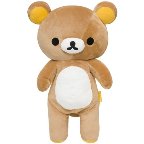 "Rilakkuma Plush 15.5"" w/ secret pocket (MD88301)"