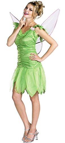Disney Fairies Tinker Bell Young Adult Costume size 12-14