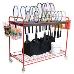 BSN Sports Racquet Storage Cart ()