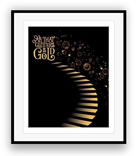Amazoncom Stairway To Heaven By Led Zeppelin Song Lyrics Art