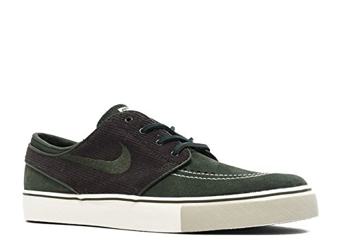 NIKE Men's Zoom Stefan Janoski OG Dark Army/Dark Army/Sail Skate Shoe 8.5 Men US