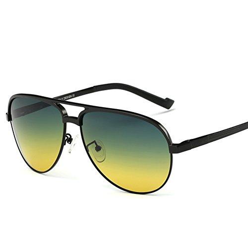 de soleil miroirs bien lunettes au Da et volant grenouille Miroir nuit Hommes de A prévention léger frame qBwxzgA