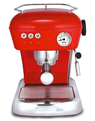ASCASO DREAM espresso machine love red