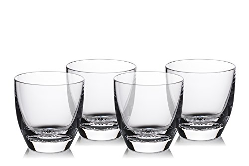 (Marquis By Waterford 40030442 Ventura Tumbler Set/4, 12 oz, Clear)