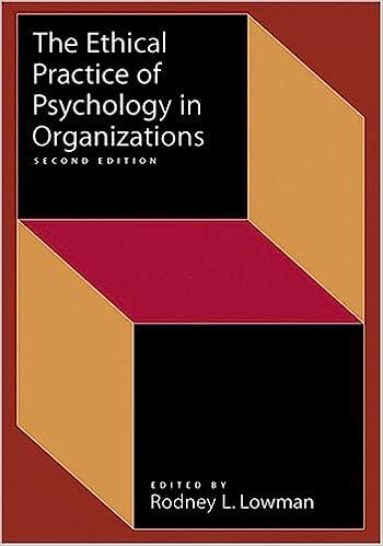 Ethical Practice of Psychology in Organizations price comparison at Flipkart, Amazon, Crossword, Uread, Bookadda, Landmark, Homeshop18