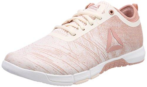 Reebok Damen Grace Tr Fitnessschuhe Pink (rosa Pallido / Gesso Rosa / Bianco / Argento 000)