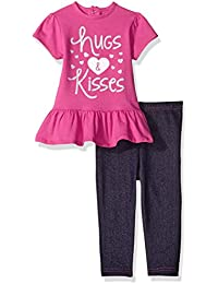 Baby Girls' 2 Piece Dress and Jegging Set