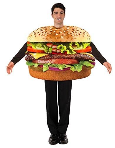 Endless Road 76249 Adult Hamburger Costume Food Costume -