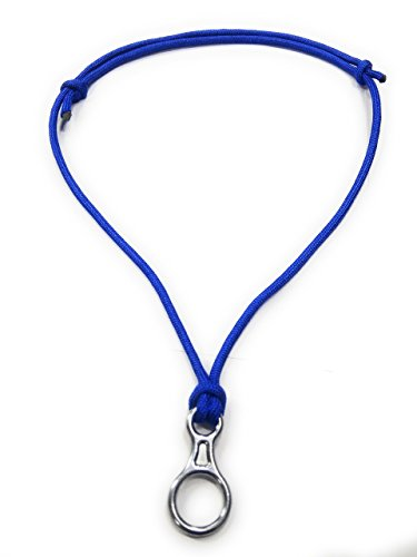 Add-gear Rock Climbing Fig 8 Descender Necklace, Climbing Rope Necklace, Climber Necklace