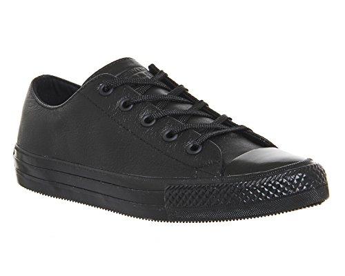 Converse , Herren Sneaker, Schwarz - Black Mono - Größe: UK 6 / EU 38,5
