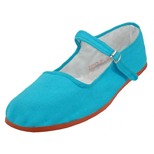 Shoes8teen Schuhe 18 Damen Baumwolle China Puppe Mary Jane Schuhe Ballerina Ballerinas Schuhe 114 Türke