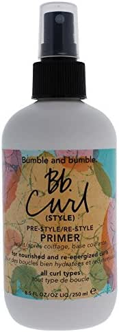 Hair Styling: Bumble and Bumble Curl Primer