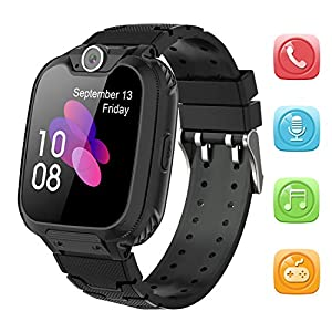 Kids Smart Watch for Boys Girls – HD Touch Screen Sports Smartwatch Phone with Call Camera Games Recorder Alarm Music…