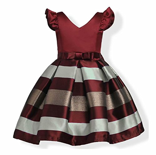AYOMIS Litter Big Girl Dress Princess Gowns Party Wedding -