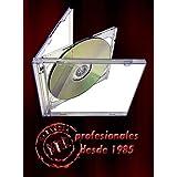 10 STANDARD Clear Double CD Jewel Case