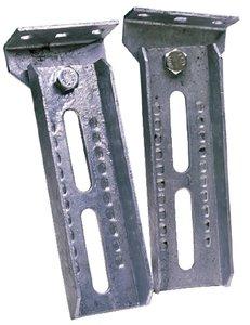 (Tie Down Engineering 6012 BOLSTER BRACKETS 12IN W/SWIVEL BOLSTER BRACKETS)