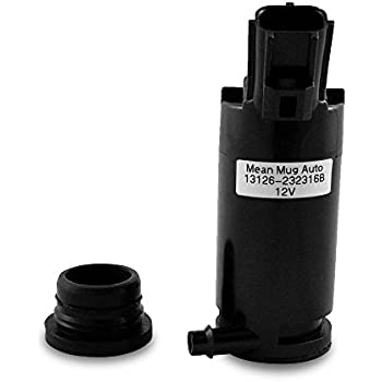 Windshield Washer Pump with Grommet 7L8Z17664A for Ford Lincoln Mazda Mercury 7L8Z-17664-A