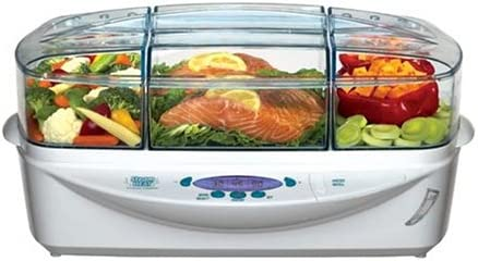 Richard Simmons EST7 Steam-Heat Electronic Food Steamer