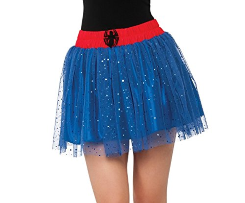Super Hero Villain Anti Hero Sequin Skirts Costume Accessory - (Heroes And Villains Costumes Women)
