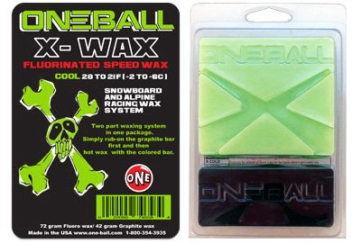 OneBallJay X-Wax Cool, 110g by ONEBALL