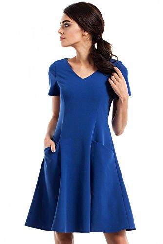 MOE Kleid 233 Schwarz Blau Q4JDzMl - mci.konstruktionsbuero-ds.de